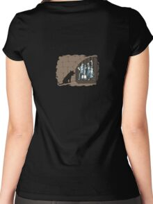 Hitchhikers of the Caribbean Women's Fitted Scoop T-Shirt
