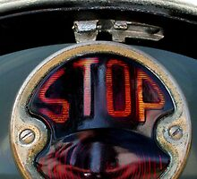 """STOP"" Tail Light  by waddleudo"