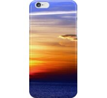 Sunset Over The Atlantic iPhone Case/Skin