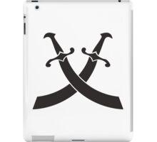 pirat saber sword icon  iPad Case/Skin