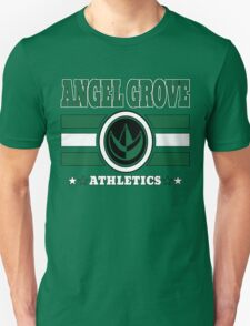 Angel Grove Athletics - Green T-Shirt
