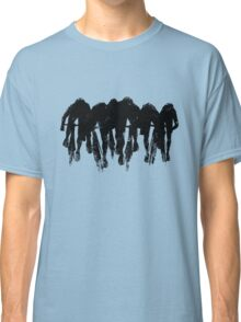 SPRINT FINISH cyclist silhouette print Classic T-Shirt