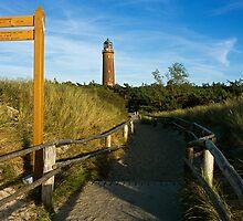 MVP66 Darss lighthouse, Mecklenburg Vorpommern, Germany by David A. L. Davies