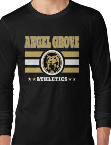 Angel Grove Athletics - Yellow Long Sleeve T-Shirt