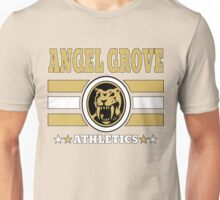 Angel Grove Athletics - Yellow Unisex T-Shirt