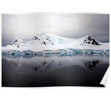 Antarctic Landscape - Paradise Bay Poster