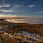 Cloud Inversion, Hartside. UK by David Lewins