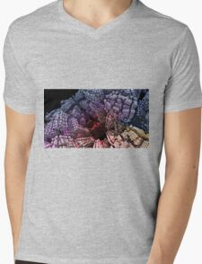 Pulls you in - Abstract Fractal Mens V-Neck T-Shirt
