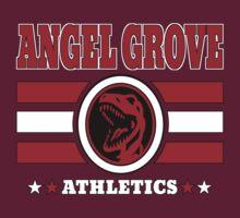 Angel Grove Athletics - Red by Vitalitee