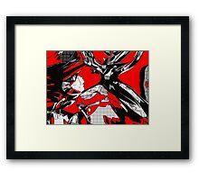 Blood Diamond Framed Print