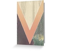 Patterns  & the Hills Greeting Card