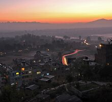 Kapitapur Sunrise by Peter Hammer