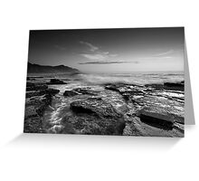 Coalcliff in B & W Greeting Card