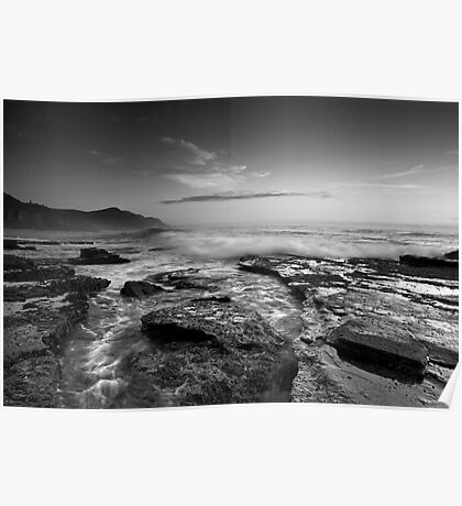 Coalcliff in B & W Poster