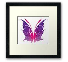 Pixie wings Framed Print