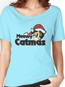 Meowy CATMAS Women's Relaxed Fit T-Shirt