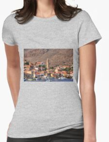 Clock Tower Womens Fitted T-Shirt