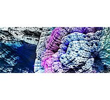 Fractal Abstract - CG render Photographic Print