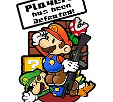 Mario Brothers: Player 2 has been defeated by Fizzybubblech