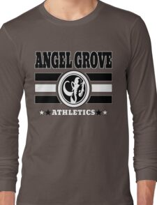 Angel Grove Athletics - Black Long Sleeve T-Shirt