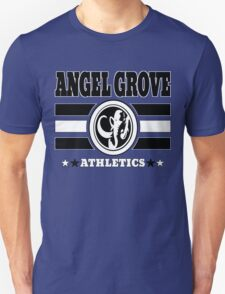 Angel Grove Athletics - Black T-Shirt