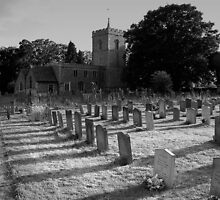 Codicote Church and Graveyard by Paul  Green