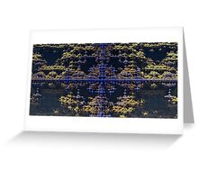 Fractal Cross - Abstract CG Greeting Card