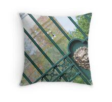 Ornamental gate Throw Pillow