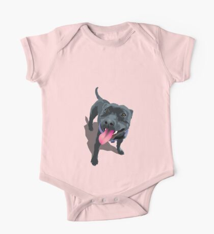 Staffy One Piece - Short Sleeve