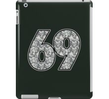 Camo - 69 Jersey iPad Case/Skin