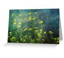 Water Weeds Greeting Card