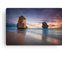 Sunset at the Apostles Canvas Print
