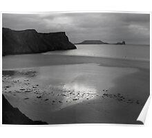 Rhossili Bay, Gower Peninsula, Wales Poster