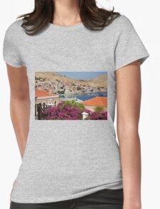 Nimborio village Womens Fitted T-Shirt