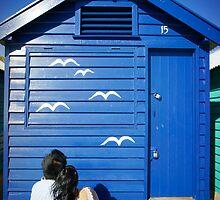 The Birdwatcher Couple by Reynandi Susanto