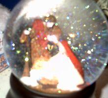 christmas globe by bluecrystal93