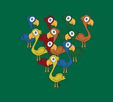 A fabulous feathered flock Unisex T-Shirt