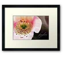 Foxglove...Helping the Heart Framed Print