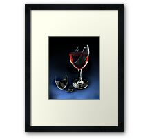 full bodied Framed Print