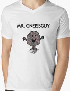 Mr. Gneissguy Mens V-Neck T-Shirt