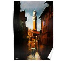 Sienna Evening Poster