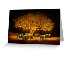The golden tree of Naxos Greeting Card