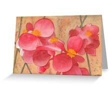 Loose Petals Greeting Card