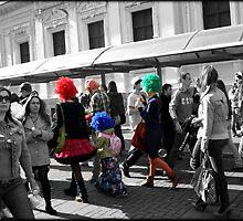 Colourful Family by KatrinKirieshka