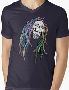 Dead King - Bob Marley Mens V-Neck T-Shirt