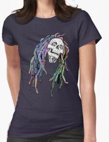 Dead King - Bob Marley Womens Fitted T-Shirt