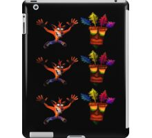 Crash Bandicoot & Mask iPad Case/Skin