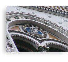 Architechural Details E Building, at 14 Floors Up. Canvas Print