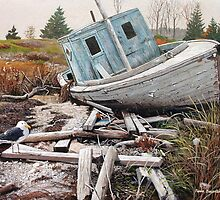 """Beached"" by Frank Boudreau"