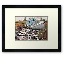 """Beached"" Framed Print"